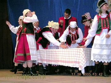 Zespół Folklorystyczny Puszcza Zielona z Łysech